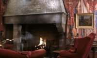 Snow in Gryffindor Common Room