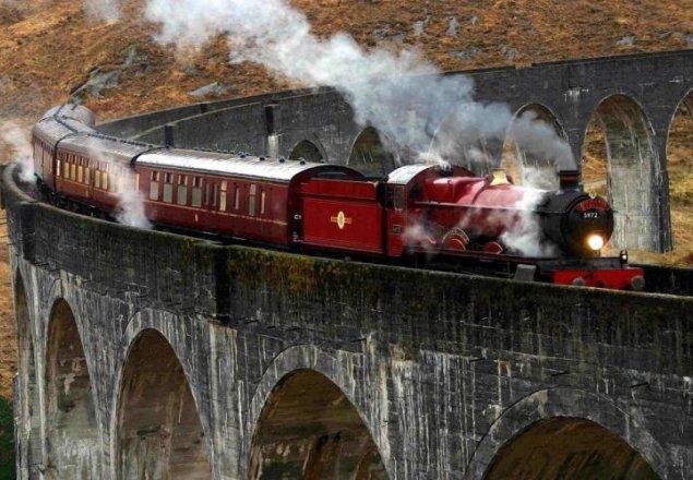 The Hogwarts Express audio atmosphere