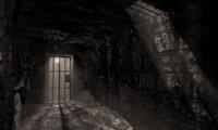 An underground prison, dungeon.