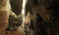 Ambient sounds of a steampunk boomtown