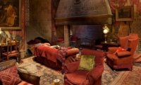 Holiday break in Gryffindor common room