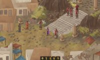 Fantasy village blockade