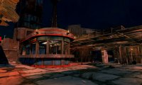 Nighttime at the Starlight Drive In- Fo4