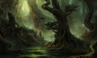 A swampy atmosphere for a weary traveller