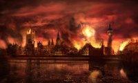Smoldering Ruin of a City