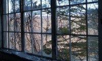 Abandoned Hospital Window View