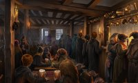 Just your average pub... except of course for the wizards bit