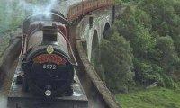 A Stormy Hogwarts Express Ride