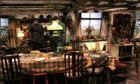 A Cosy Morning in Molly Weasley's Kitchen