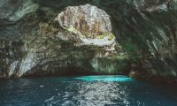 Dripping cave noises, prehistoric creatures