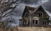 Abandoned Cliffside Mansion