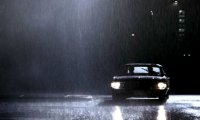 The Impala rolling down another rainy highway.