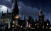 Alone in Hogwarts on a rainy night