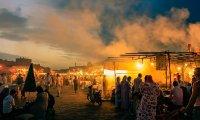 Visit an exotic bazaar
