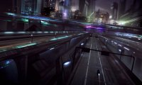 Cyberpunk Highway in Motion