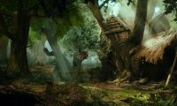 Outside the House of Radagast the Brown