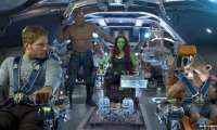 Gauardians Of The Galaxy Ship Ride