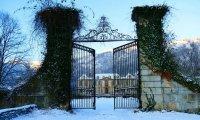 The Study in Chateau de Gudanes