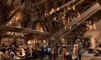 Cozy at The Three Broomsticks