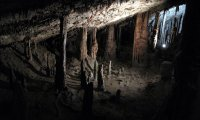 Following a ghost child underground