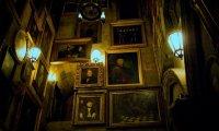 Inside Hogwarts at Night