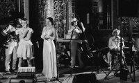 Mid-thirties american jazz club in lower manhattan