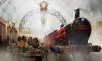 Rainy day on the Hogwarts Express