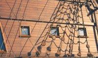Peaceful Evening On Ship Deck
