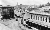 A fine spring day along Main Street, Los Angeles 1890