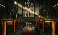 Study session at Martyrs' Kirk Library, St Andrews