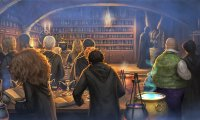 Potion Class in Hogwarts