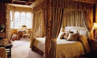 Falling asleep in a country house