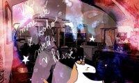 Unicorns in a café
