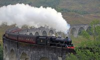 Last ride on Hogwarts Train