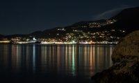 Coastal Dwarven City at Night