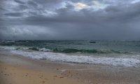 Summer Storm on the Beach