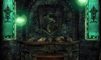 Slytherin Dorms at night