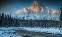 DSA Atmosphere winter mountain