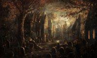 Alabaster Eve in Hagrid's Hut