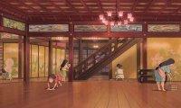 Inside Yubaba's bath house.