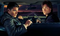 Driving to a hunt with Sam and Dean