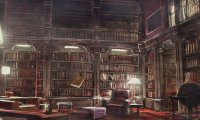 Inspired by Hogwarts Library
