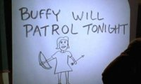 Buffy on Patrol