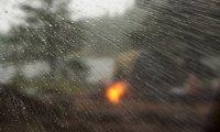Rain in a tent