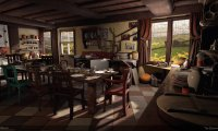 Mrs. Weasley's kitchen