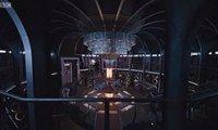 The TARDIS at midnight