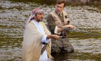 Salmon Fishing in the Wadi Aleyn