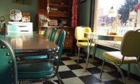 1940's vintage cafe