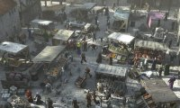 Fantasy market place.