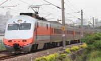 台灣自強號車廂內部 Taiwan Railway Ziqiang